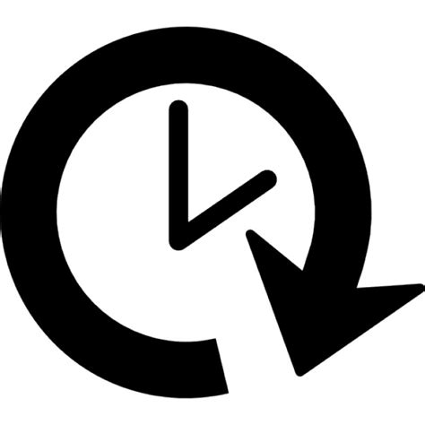 Minimalist Clock by Clock Forward Icons Free Download