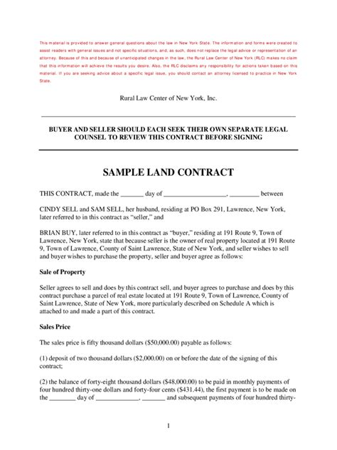 map pricing agreement template land contract form 5 free templates in pdf word excel