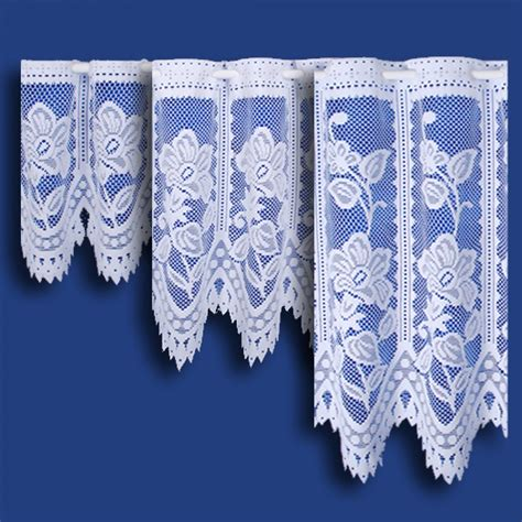 cafe net curtains by the metre andrea cafe net curtain in white sold by the metre