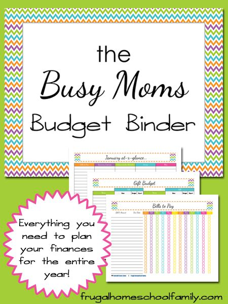 Busy Mom Calendar Template