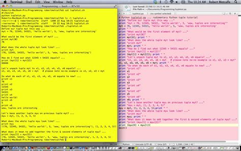 python tutorial tuple python tuple primer tutorial robert metcalfe blog