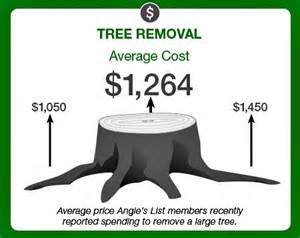 is tree removal a diy project angies list