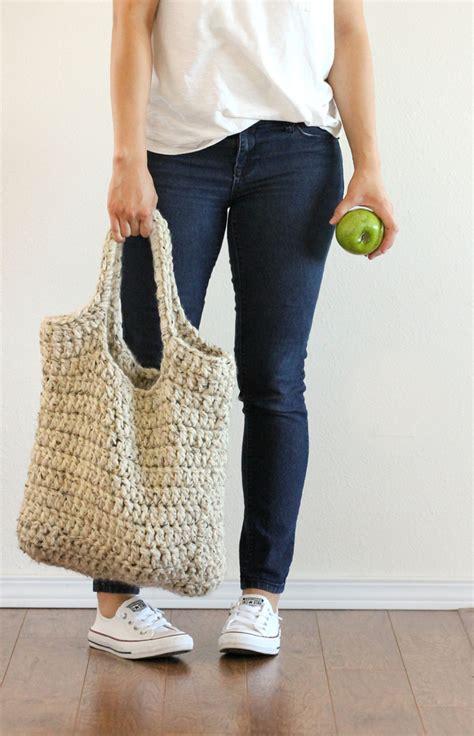 crochet pattern shopping tote free crochet pattern sturdy market tote