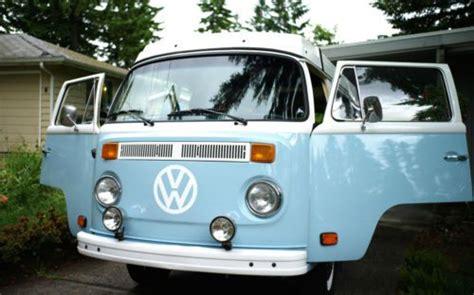 sell  vw bus  westfalia camper van automatic  bellevue washington united states