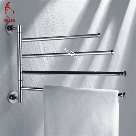 decorative bathroom rotated extendable towel rack buy