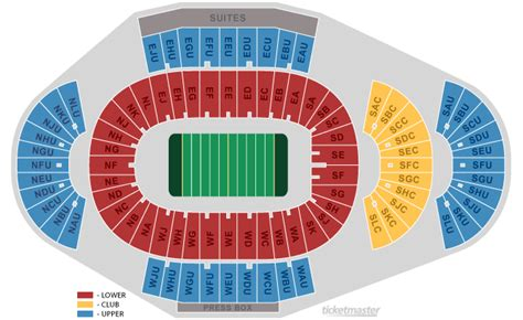 penn state football seating chart beaver stadium state college pa