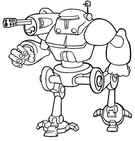 benerator robot factory a coloring book featuring illustrations by ben nunez volume 1 books robots coloring pages