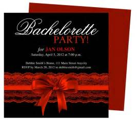 Bachelorette Invites Templates by Bachelorette Invitations Templates Scarlet