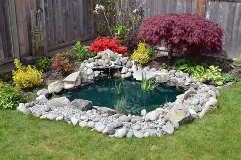 backyard pond ideas designs pictures