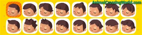 animal crossing boy hairstyles customizing your character s appearance face hair skin