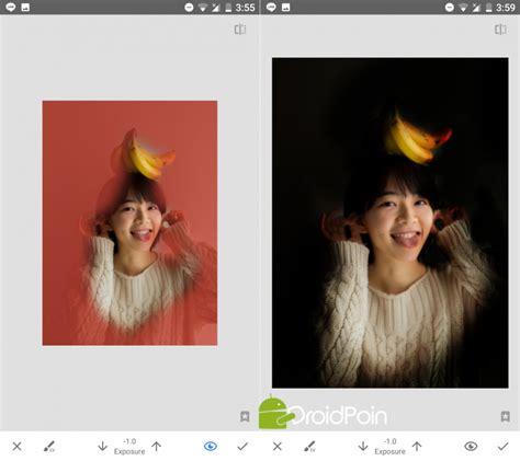 tutorial efek snapseed tutorial membuat efek stage light ala iphone x hanya pakai