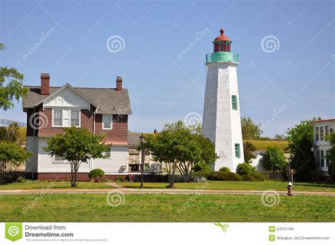 old point comfort old point comfort lighthouse usa stock images image