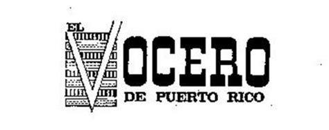 peri dico el vocero de puerto rico puerto rico el vocero de puerto rico trademark of el vocero de puerto