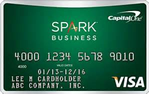 capital one spark for business spark select business credit card review