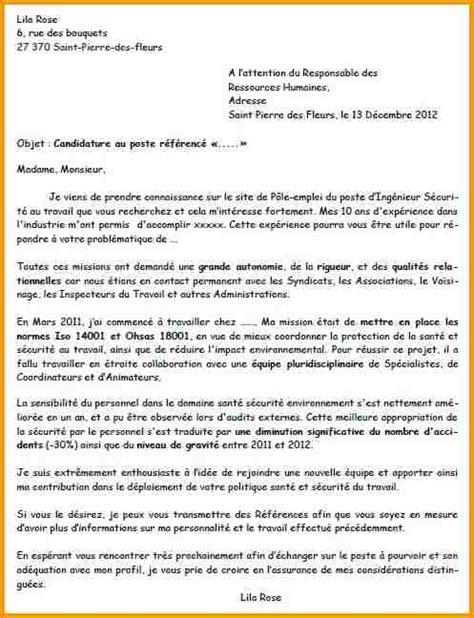 Lettre De Recommandation Pour Infirmiere 9 Lettre Motivation Ing 233 Nieur Lettre Administrative