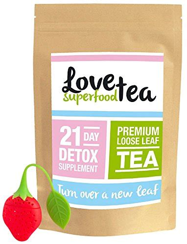 Ultimate Detox Tea by Superfood Tea 21 Day Teatox Premium Weight