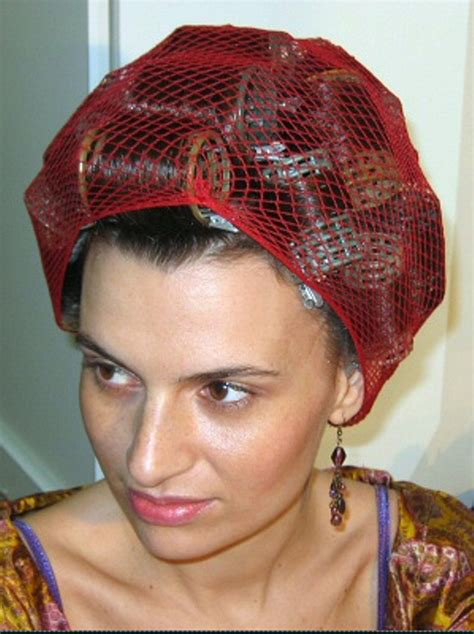 hairnets for perm haarnetz by chez birgit via flickr hair nets and