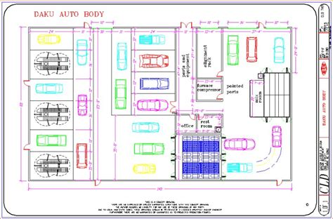 automotive shop layout floor plan auto repair shop building plans floor related keywords