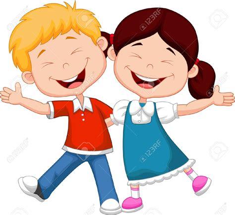 imagenes de niños felices animados 23001377 ni os felices de dibujos animados foto de archivo