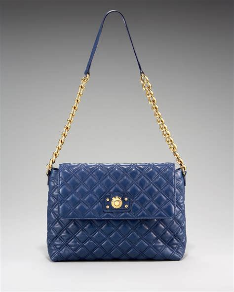 Marc Large Quilted Tote by Marc The Single Quilted Bag Large In Blue