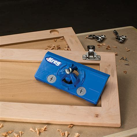 kitchen cabinet hinge jig home dzine home diy kreg launches concealed hinge jig