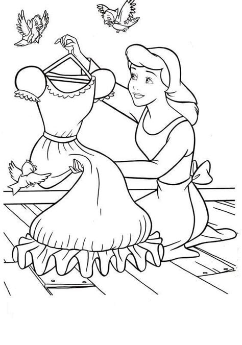 Cinderella Coloring Pages Free by 30 Free Printable Cinderella Coloring Pages