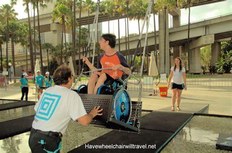 sydney swing festival sydney festival s wheelchair accessible waterfall swing