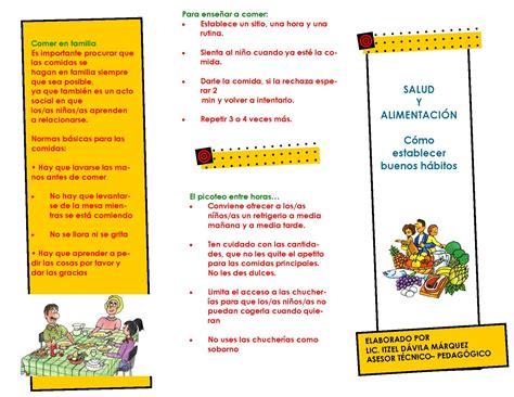 triptico de educacion inicial tr 205 ptico spa tripticos acerca de educacion inicial modelo triptico triptico de la semana de educacion