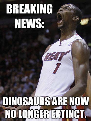 Chris Bosh Dinosaur Meme - nba memes chris bosh dinosaur www pixshark com images