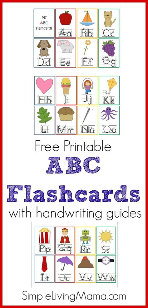 printable abc flashcards for toddlers 1566 best abc themes for kids images on pinterest