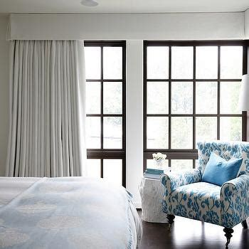 brown headboard transitional bedroom elsa soyars white slipcovered headboard transitional bedroom
