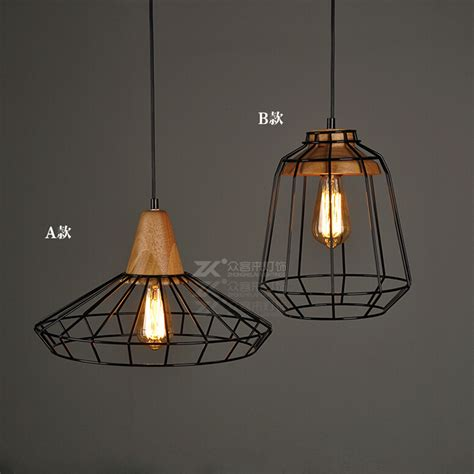 Discount Pendant Light Fixtures Get Cheap Wire Cage Light Fixtures Aliexpress Alibaba