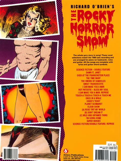 rocky horror picture show book rockymusic rocky horror show vocal selections book