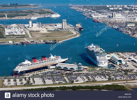 canaveral cocoa cruise ships in harbor at canaveral cocoa