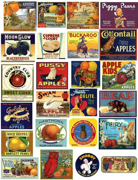 printable old labels 198 best images about printables for children s play food