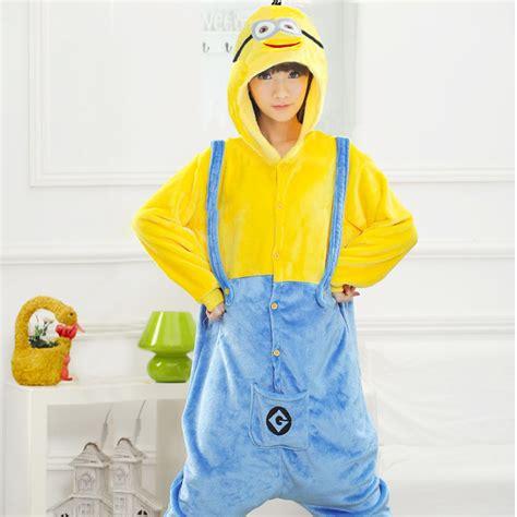 Piyama Onesie Minion Unisex Baru Popular Minion Pajamas Buy Cheap Minion
