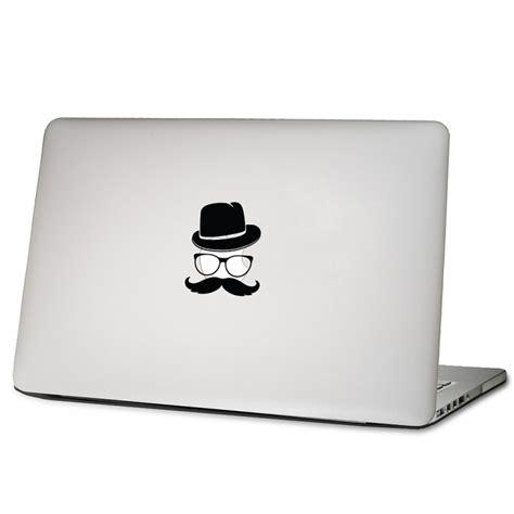 Aufkleber Auf Macbook Entfernen by Mustache Laptop Macbook Sticker Aufkleber