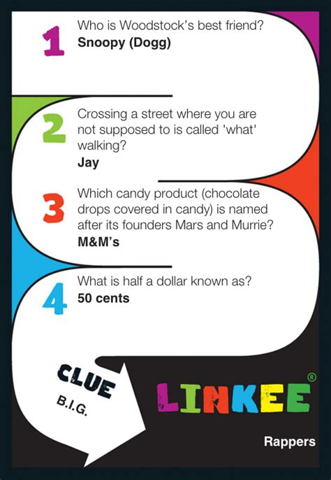 Or Questions Cards Linkee Trivia Reviews The Insider