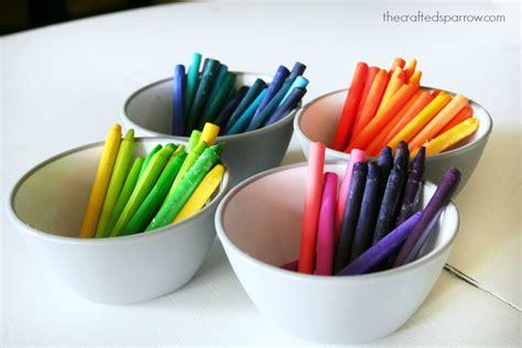 Wax Paper Crayon Craft - wax paper crayon
