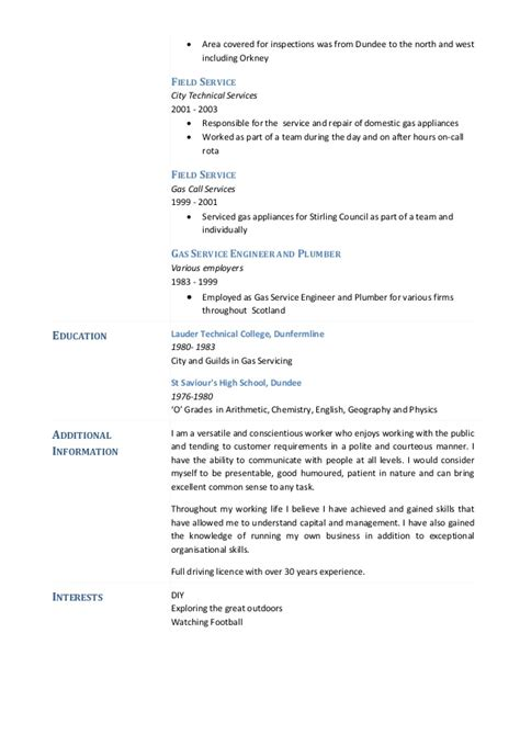 Savage Plumbing by Paul Savage Plumbing And Heating Engineer Cv