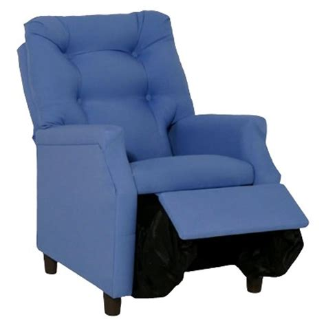 child recliner target komfy kings deluxe upholstered kids recliner cha target