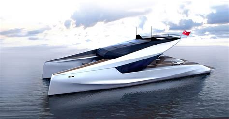 catamaran easy boat this 115 catamaran concept actually looks good and could