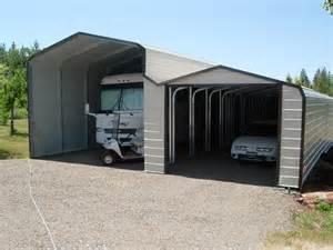 Metal Carport With Storage Metal Rv Storage And Carports
