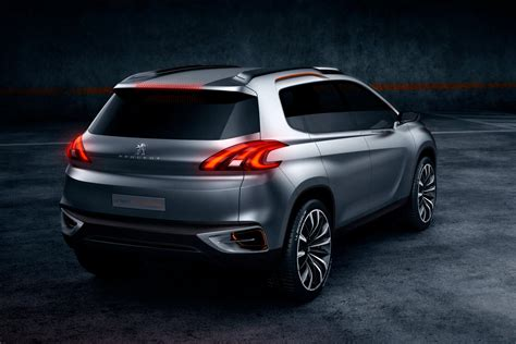 peugeot 2008 crossover peugeot 2008 previewed as urban crossover concept