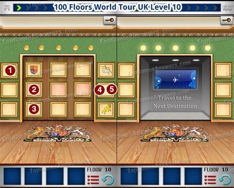 100 floors world level 10 100 floors world tour all level walkthrough top
