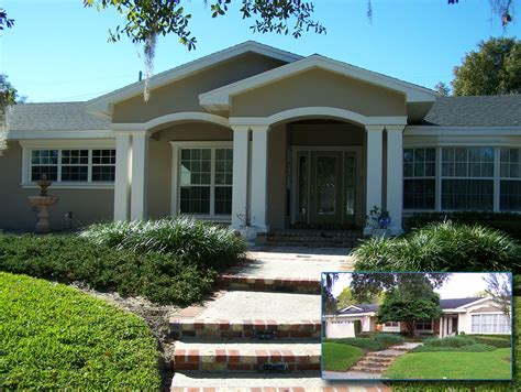 orlando home renovation exterior before and after photos professional remodeling contractor