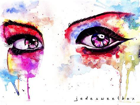 watercolor drip tutorial 232 best eyes that drip images on pinterest watercolor