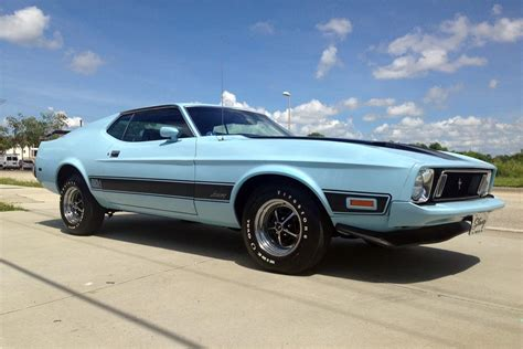 1973 ford mustang 1973 ford mustang mach 1 fastback 187111