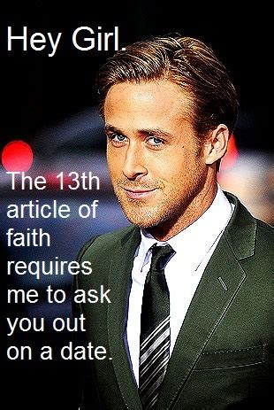 ryan gosling lds mormon hey girl