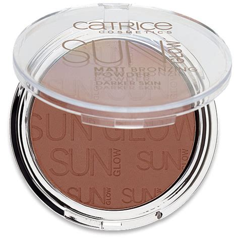 catrice matt bronzer catrice cosmetics sun glow matt bronzing puder